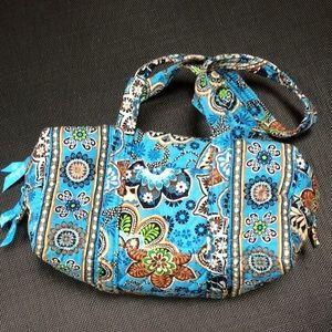 Vera Bradley Bali Blue Duffel Small Bag NWT
